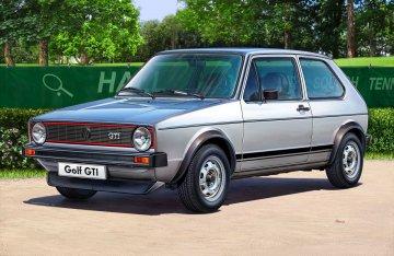 VW Golf 1 GTI · RE 07072 ·  Revell · 1:24