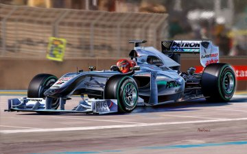 Mercedes-Benz GP W01 · RE 07098 ·  Revell · 1:24