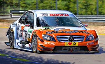 Mercedes C-Klasse DTM´09 Gary Paffett · RE 07127 ·  Revell · 1:24