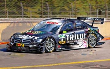 Mercedes C-Klasse DTM´09 Ralf Schumacher · RE 07128 ·  Revell · 1:24
