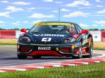 Ferrari 360 Challenge Driver: Norbert Graf easykit · RE 07137 ·  Revell · 1:32