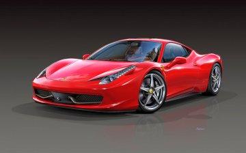 Ferrari 458 Italia · RE 07141 ·  Revell · 1:24