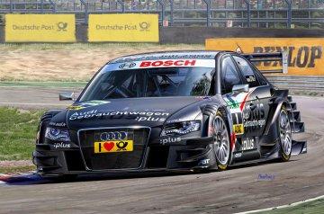 Audi A4 DTM 2009 Timo Scheider · RE 07176 ·  Revell · 1:24
