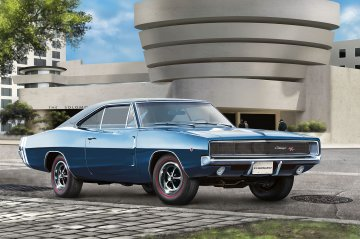 1968 Dodge Charger (2in1) · RE 07188 ·  Revell · 1:25