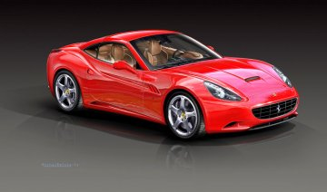 Ferrari California (close top) · RE 07191 ·  Revell · 1:24
