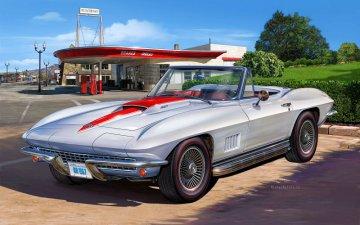 '67 Corvette 427 Convertible · RE 07197 ·  Revell · 1:25