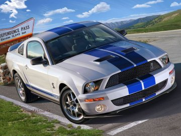 Shelby GT 500 · RE 07243 ·  Revell · 1:25