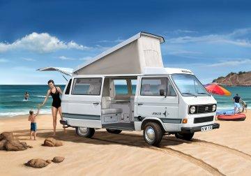 Volkswagen T3 Camper · RE 07344 ·  Revell · 1:25