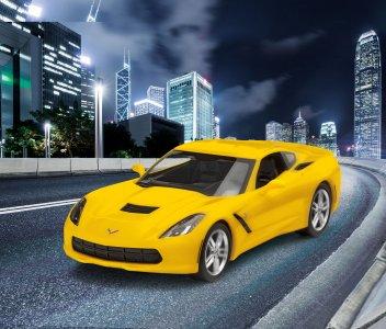 2014 Corvette Stingray - Easy Click System · RE 07449 ·  Revell · 1:25