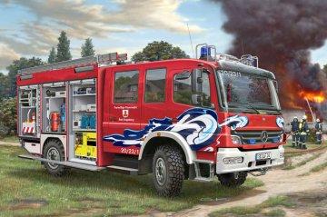 Schlingmann Feuerwehrfahrzeuge TLF 16/25 Mercedes Benz Atego 1529 AF · RE 07586 ·  Revell · 1:24