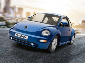 VW New Beetle · RE 07643 ·  Revell · 1:24