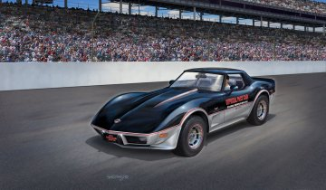 ´78 Corvette Indy Pace Car · RE 07646 ·  Revell · 1:24