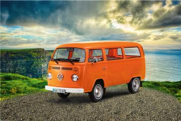 VW T2 Bus - easy-click-system · RE 07667 ·  Revell · 1:24