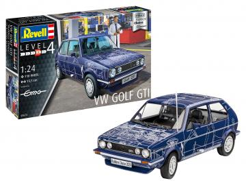 VW Golf GTI - Builders Choice · RE 07673 ·  Revell · 1:24