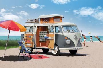 VW T1 Camper · RE 07674 ·  Revell · 1:24