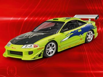 Fast & Furious - Brian´s 1995 Mitsubishi Eclipse  · RE 07691 ·  Revell · 1:25