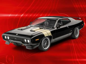 Fast & Furious - Dominics 1971 Plymouth GTX  · RE 07692 ·  Revell · 1:24