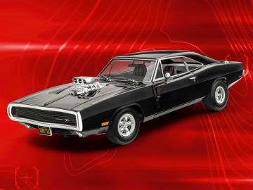 Fast & Furious - Dominics 1970 Dodge Charger  · RE 07693 ·  Revell · 1:25