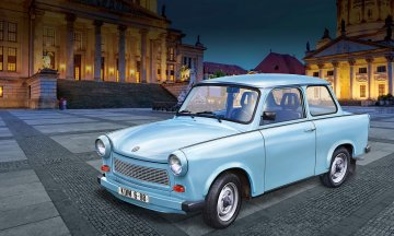 Trabant 601S - 60 Jahre · RE 07777 ·  Revell · 1:24