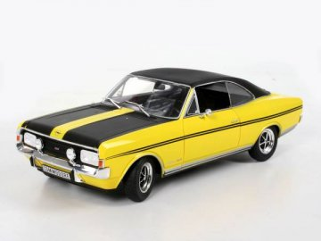 Opel Commodore, gelb/schwarz · RE 08493 ·  Revell · 1:18