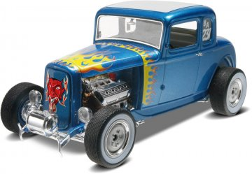 1932 Ford 5 Window Coupe 2 in 1 · RE 14228 ·  Revell · 1:25