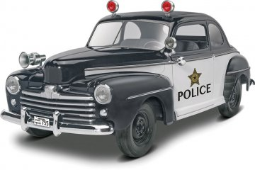 1948 Ford Police Coupe 2 in 1 · RE 14318 ·  Revell · 1:25