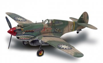 P-40B Tiger Shark · RE 15209 ·  Revell · 1:48
