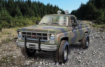1978 GMC Big Game Country Pickup · RE 17226 ·  Revell · 1:24