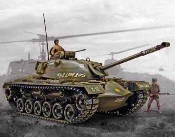 M-48 A-2 Patton Tank · RE 17853 ·  Revell · 1:35