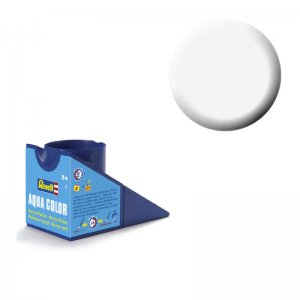 Weiß (glänzend) - Aqua Color - 18ml · RE 36104 ·  Revell