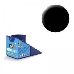 Schwarz (seidenmatt) - Aqua Color - 18ml · RE 36302 ·  Revell
