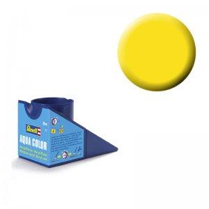 Leuchtgelb (seidenmatt) - Aqua Color - 18ml · RE 36312 ·  Revell