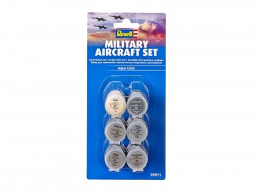 Farben-Set Militärflugzeuge · RE 39071 ·  Revell