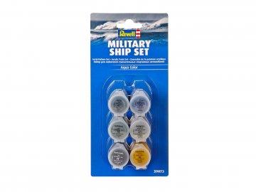 Farben-Set Militärschiffe · RE 39073 ·  Revell