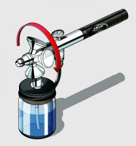 Spray Gun ´master class´  FLEXIBLE · RE 39109 ·  Revell