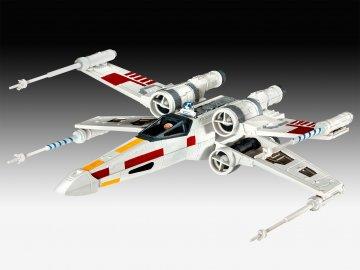 Model Set X-wing Fighter · RE 63601 ·  Revell · 1:112