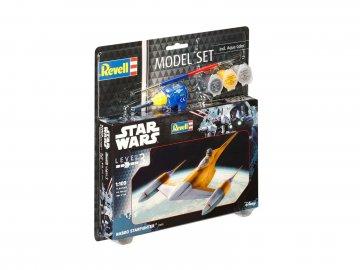 Model Set Naboo Starfighter · RE 63611 ·  Revell · 1:110