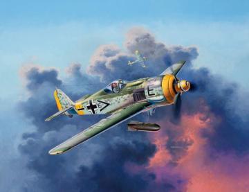 Model Set Focke Wulf Fw190 F-8 · RE 63898 ·  Revell · 1:72
