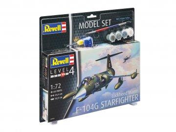 Model Set F-104G Starfighter · RE 63904 ·  Revell · 1:72