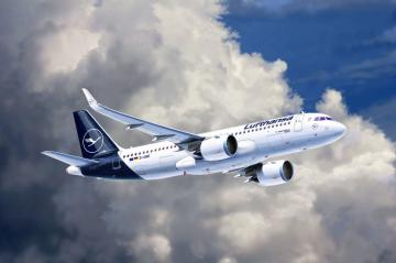Model Set - Airbus A320 Neo Lufthansa · RE 63942 ·  Revell · 1:144