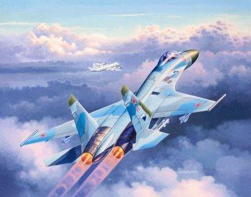 Model Set Suchoi Su-27 Flanker · RE 63948 ·  Revell · 1:144