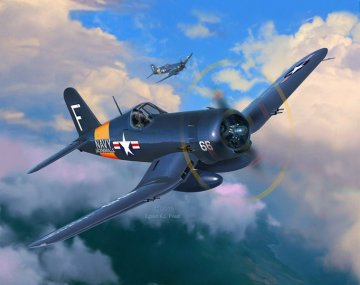 Model Set F4U-4 Corsair · RE 63955 ·  Revell · 1:72