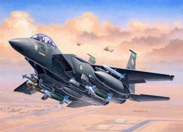 Model Set F-15E STRIKE EAGLE · RE 63972 ·  Revell · 1:144