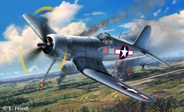 Model Set Vought F4U-1D Corsair · RE 63983 ·  Revell · 1:72