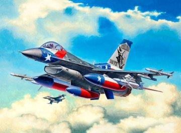 Model Set F-16C USAF · RE 63992 ·  Revell · 1:144