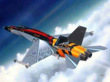 Model Set F/A-18C Hornet · RE 64001 ·  Revell · 1:144