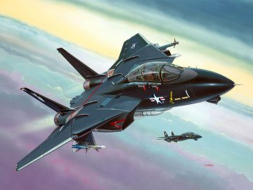 Model Set F-14A Black Tomcat · RE 64029 ·  Revell · 1:144