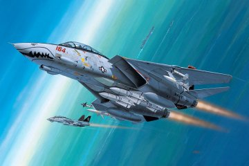 Model Set F-14D Super Tomcat · RE 64049 ·  Revell · 1:144