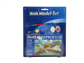 Model Set Albatross D.III · RE 64062 ·  Revell · 1:72