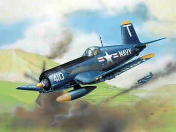 Model Set F4U-5 Corsair · RE 64143 ·  Revell · 1:72
